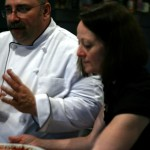 Bob &amp; Darlene Vaningan teach cooking.