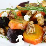 Beet Walnut Salad