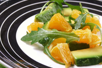 Post image for Avocado & Orange Salad by Sara Shaikh